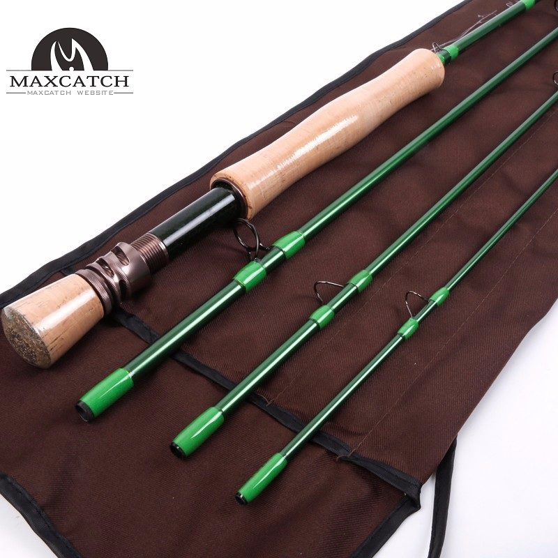 40T Carbon Fiber Fast Action With Carbon Pacbay Minima Ring Fly Rod<Lifetime Warranty>